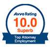 AVVO Rating - Top Attorney Employment