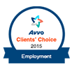 AVVO badge - Employment 2015