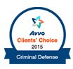 AVVO badge - Criminal Defense 2015
